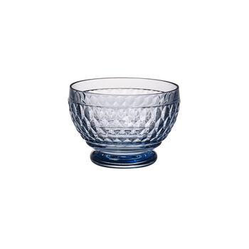 Boston Coloured Dessert bowl Blue