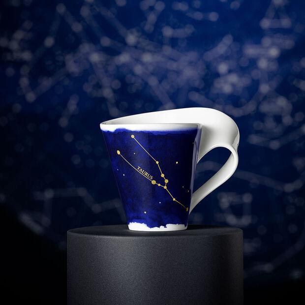 NewWave Stars mug Taurus, 300 ml, blue/white, , large