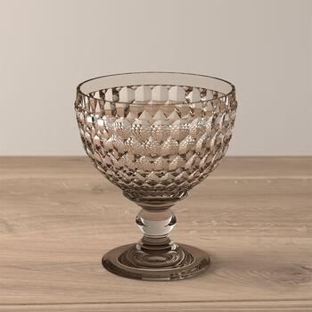 Boston Coloured champagne coupe/dessert bowl, smoke, 12.5 cm