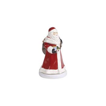 Nostalgic Melody Santa rotating, red, 8 x 8 x 15 cm