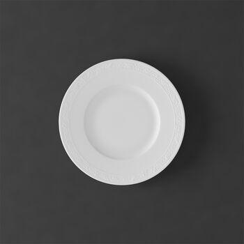 White Pearl bread plate