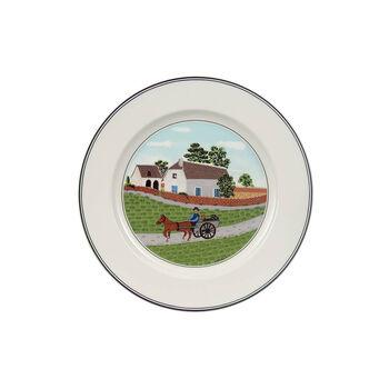 Design Naif breakfast plate Farmer