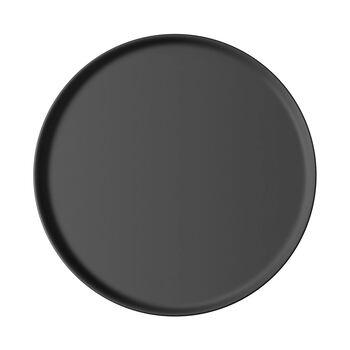 Iconic universal plate, black, 24 x 2 cm