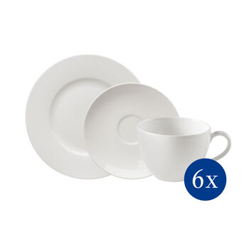 vivo | Villeroy & Boch Group Basic White Coffee Set 18pcs