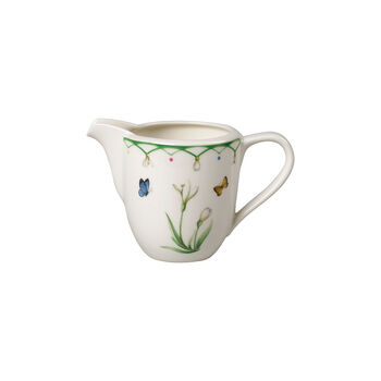 Colourful Spring milk jug