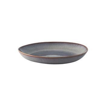 Lave Beige flat bowl, beige, 28 x 27 x 4.3 cm
