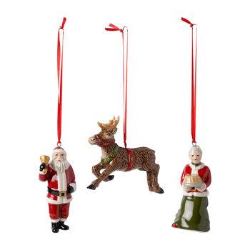 Nostalgic Ornaments Ornaments North Pole Express Set 3pcs 9,5cm