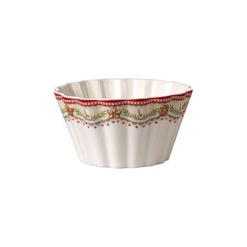 Winter Bakery Delight bowl gingerbread, red/multicoloured, 630 ml