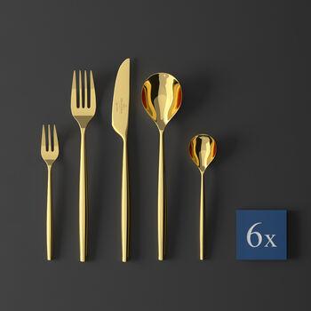 MetroChic d'Or Cutlery set 30pcs 42x27x5cm