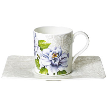 Quinsai Garden Coffee cup & saucer 2pcs