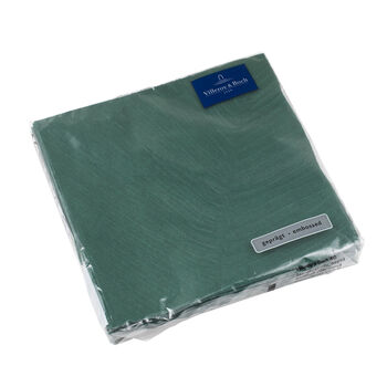 like.by Villeroy & Boch Paper Napkins it's my match green leaf Lunch, 33 x 33 cm