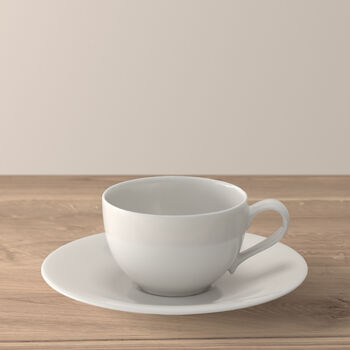 New Cottage Basic coffee cup and saucer 2 pieces