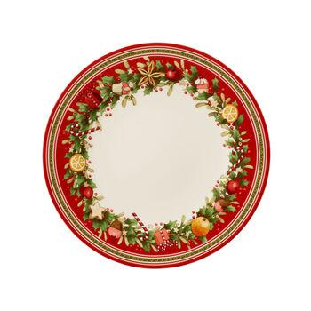 Winter Bakery Delight dinner plate