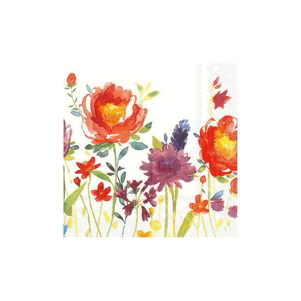 Paper Napkins Anmut Flowers, 20 pieces, 33x33cm, , large