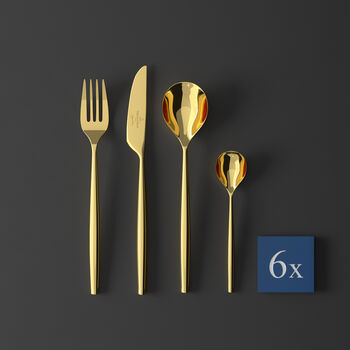 MetroChic d'Or Cutlery set 24pcs 42x27x5cm