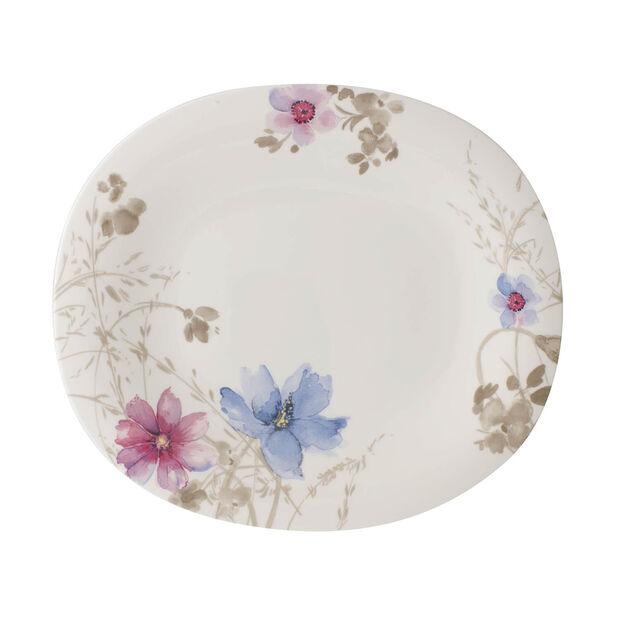 Mariefleur Gris Basic oval dinner plate, , large
