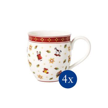 Toy's Delight toys coffee mug 4-piece set