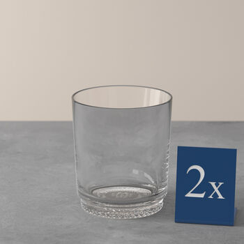 like.by Villeroy & Boch it's my match water glass set, clear, 9 x 10 cm, 2 pieces