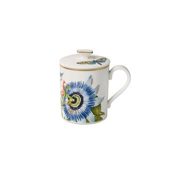Amazonia Gifts Mug with lid 11,5x8,5x11cm