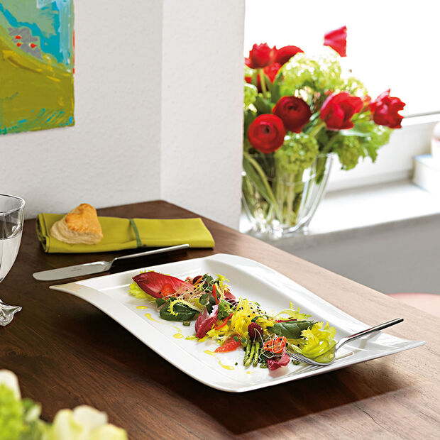 NewWave gourmet plate 37 x 25 cm, , large