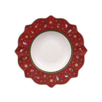 Toy's Delight Deep plate red 26cm