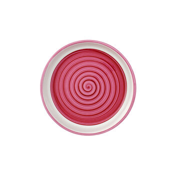 Clever Cooking Pink serving plate / lid round