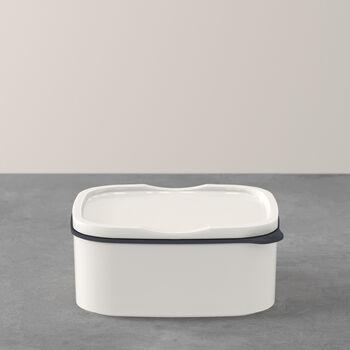 ToGo&ToStay lunch box, 13 x 10 x 6 cm, rectangular, white