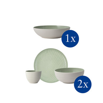 It's my match First Love, tableware set, 7 pieces, for 2 people