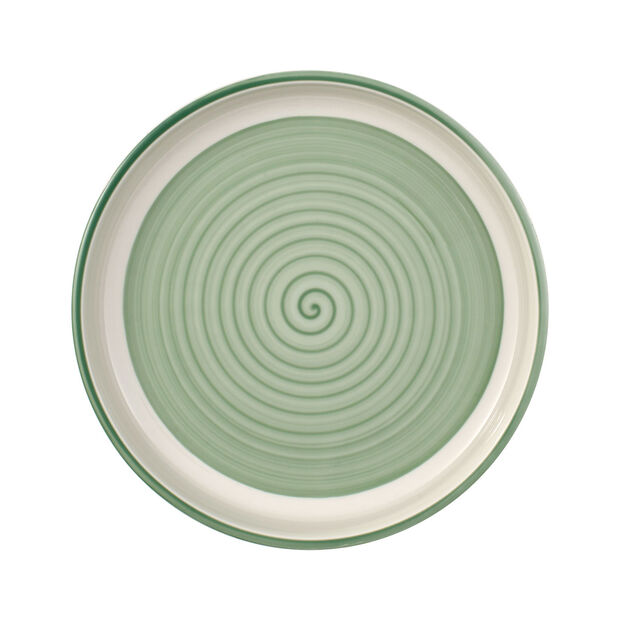 Clever Cooking Green round serving plate 26 cm, , large