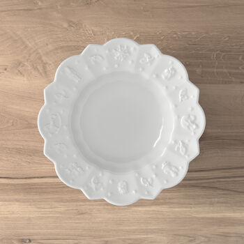 Toy's Delight Royal Classic deep plate, white, 332 ml