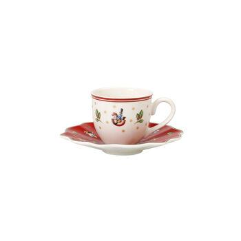 Toy's Delight Espresso cup & saucer 2pcs