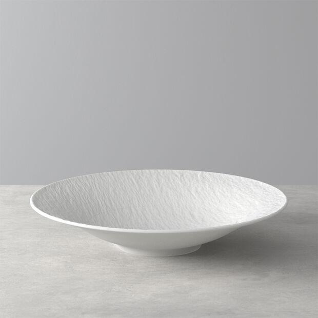 Manufacture Rock Blanc deep bowl, 29 cm, , large