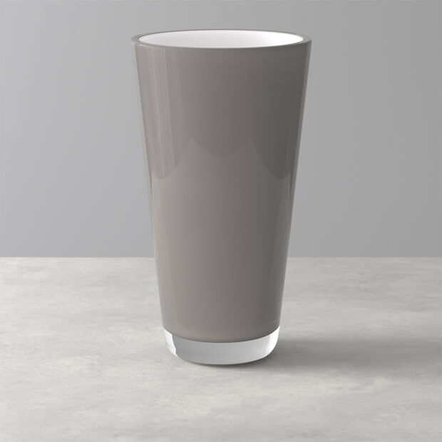Verso Vase pure stone 250mm, , large