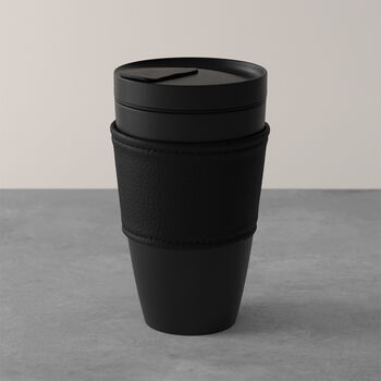 Manufacture Rock Coffee To Go travel mug, 350 ml, matt black