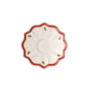 Toy's Delight white coffee/tea cup saucer