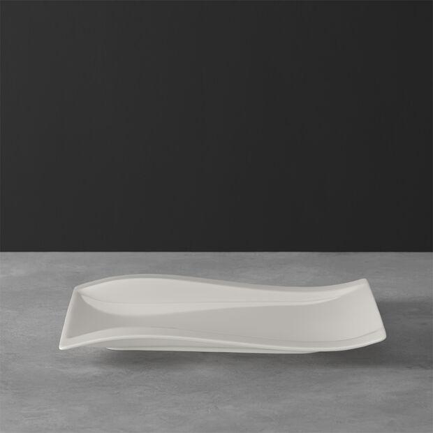 NewWave rectangular breakfast plate 26 x 20 cm, , large