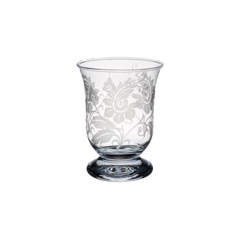 Helium with flower ornament Hurricane lamp 155mm