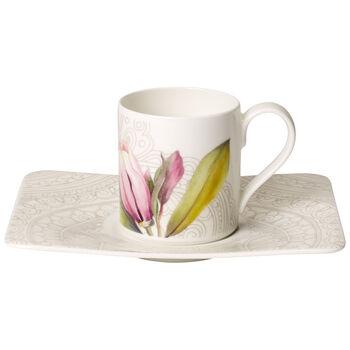 Quinsai Garden Espresso cup & saucer 2pcs
