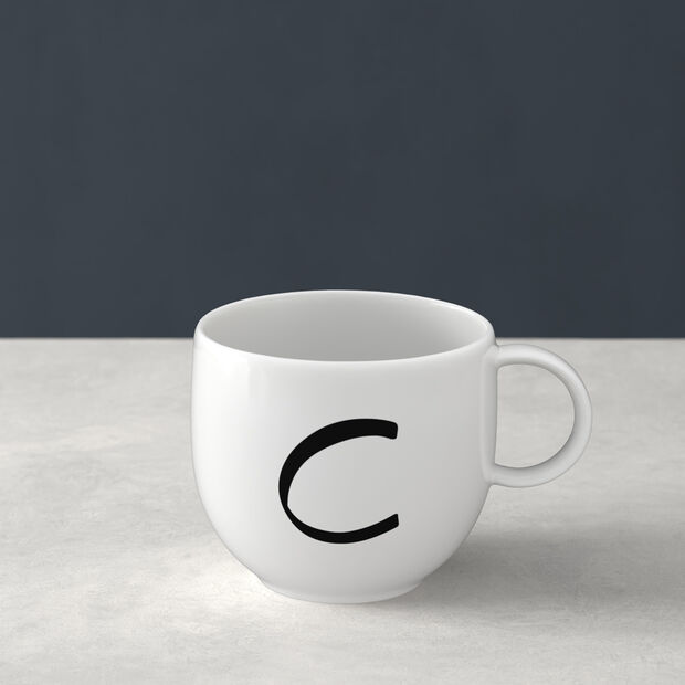 Letters Mug C 13x10x8cm, , large