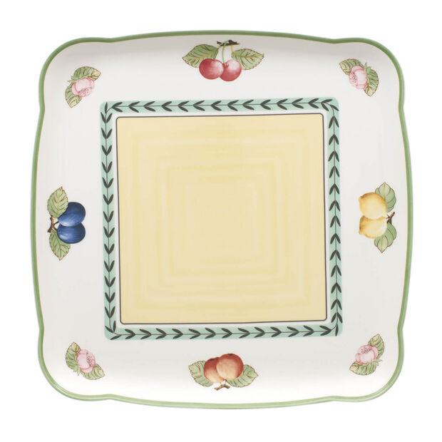 Charm & Breakfast French Garden Square platter 30cm, , large