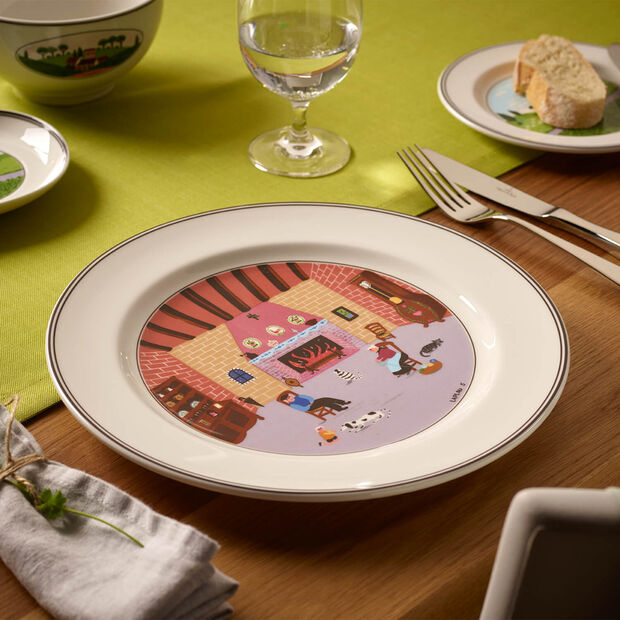 Design Naif dinner plate Fireplace, , large