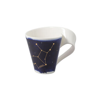 NewWave Stars mug Virgo, 300 ml, blue/white