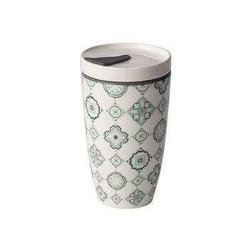 Modern Dining To Go Jade travel coffee mug