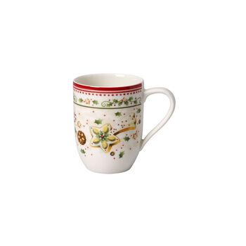 Winter Bakery Delight falling star coffee mug