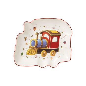 Toy's Delight train bowl