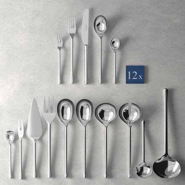 Udine Cutlery set 70pcs 49x34x13cm, , large