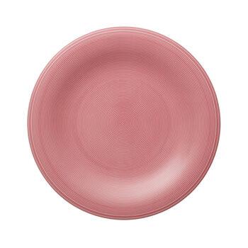 Color Loop Rose dinner plate 28x28x3cm