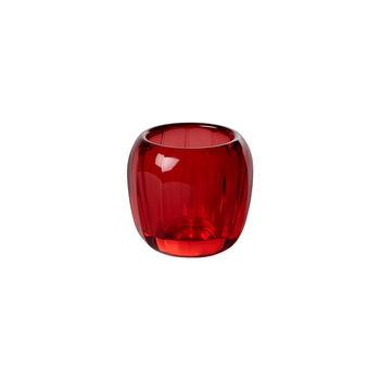 Coloured DeLight small tea light holder Deep Red