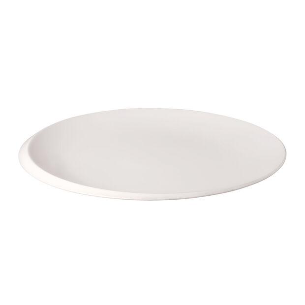 NewMoon gourmet plate, 32 cm, white, , large