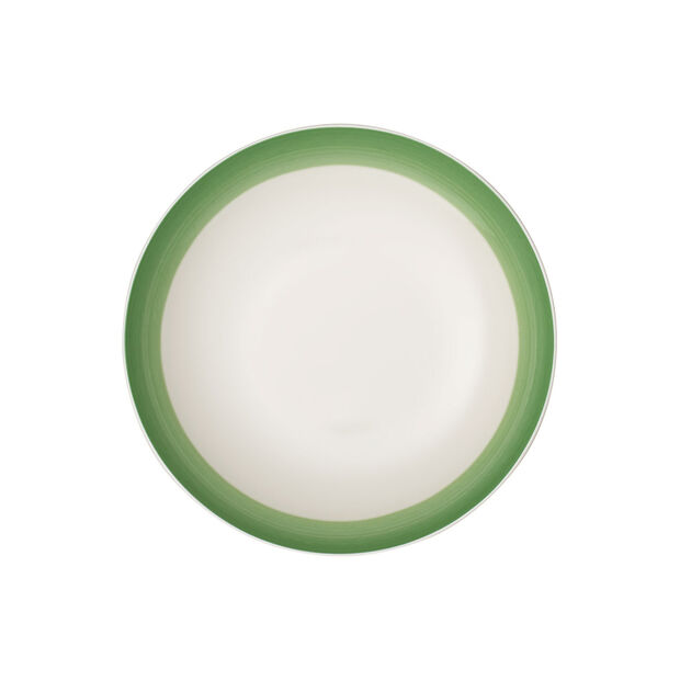 Colourful Life Green Apple flat bowl, , large